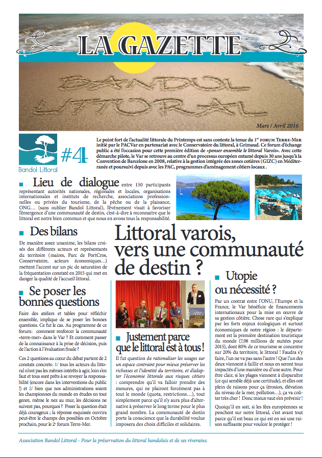 Gazette bandol littoral 4