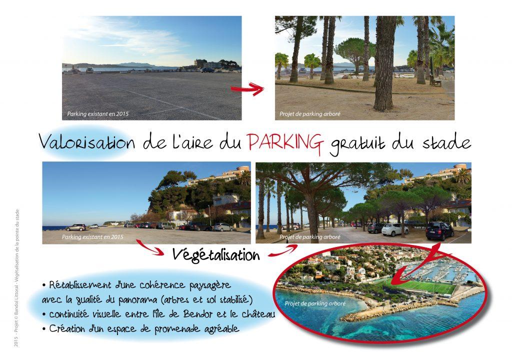Projet parking du stade