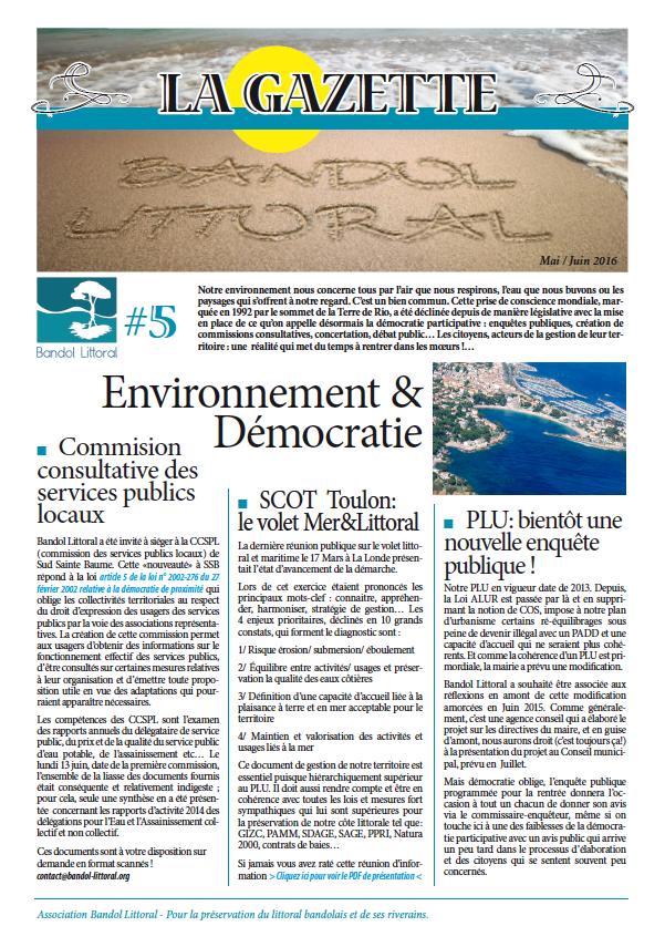 Gazette du littoral 5